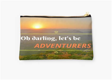 Oh Darling Lets Be Adventurers Studio Pouches By