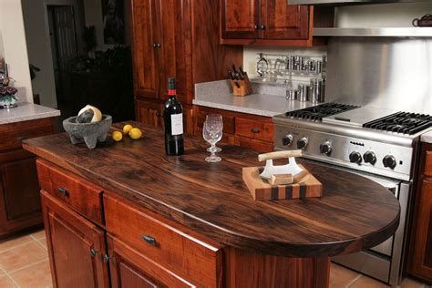 pictures of white kitchen cabinets with granite custom wood countertop options finishes