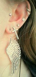 Multiple Ear Piercings On Tumblr