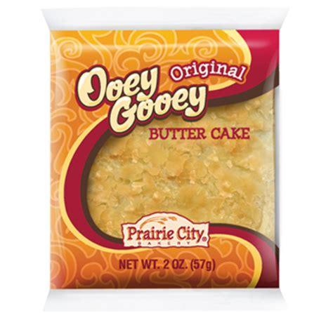 ooey gooey butter cake original prairie city bakery
