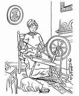 Coloring Weaving Parents Gran Granma Netart Grandparents sketch template