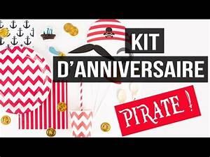Deco Anniversaire Pirate : kit anniversaire pirate d co pirate youtube ~ Melissatoandfro.com Idées de Décoration