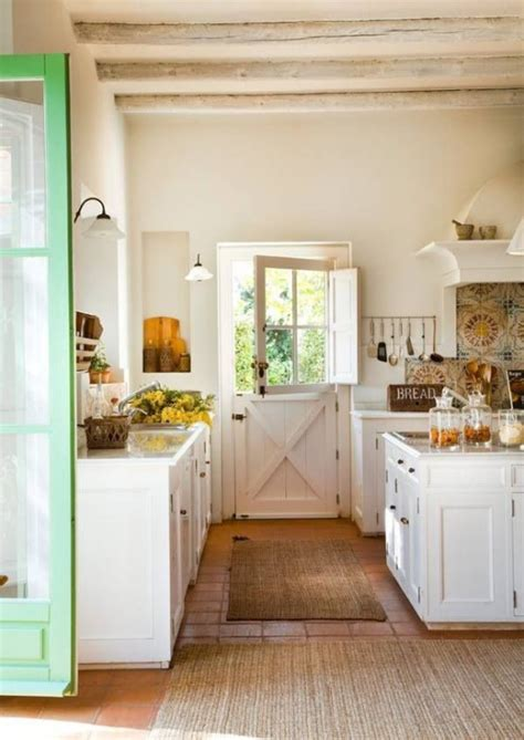 38 Super Cozy And Charming Cottage Kitchens Interior
