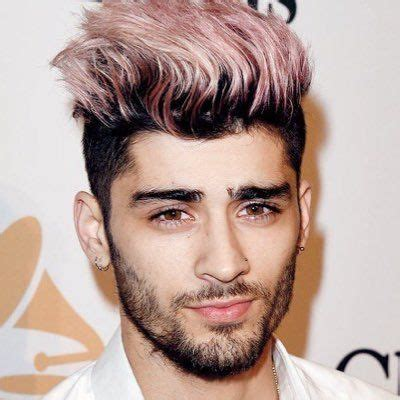 rose gold hair   zayn malik hairstyle zayn