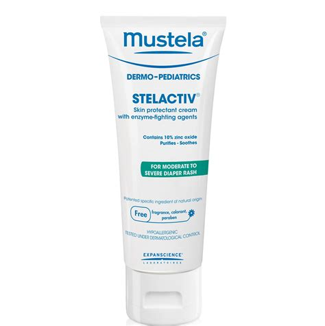 Mustela Stelactiv Fragrance Free Diaper Cream To Prevent