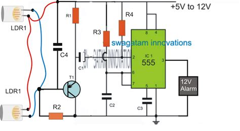 smart laser alarm protection circuit  ic