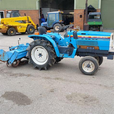 Mitsubishi Compact Tractor by Mitsubishi Mt1601 Compact Tractor 500 Hours 3 Cylinder