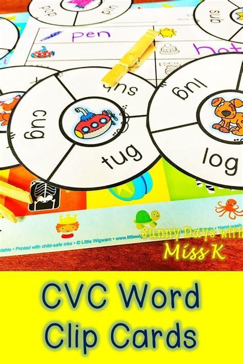 kindergarten literacy center cvc word center cvc word