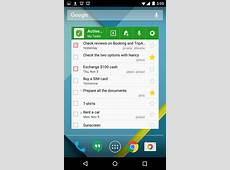 Android ToDo List and Task List App MyLifeOrganized
