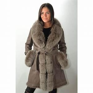 Manteau Homme Avec Fourrure : manteau fourrure femme giovanni bella taupe murphy cuir ~ Melissatoandfro.com Idées de Décoration