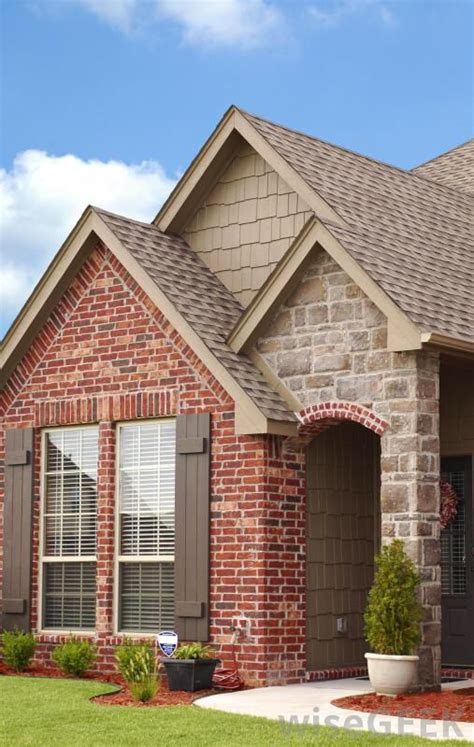 brick veneer to match out chimneys exterior paint colors house and design