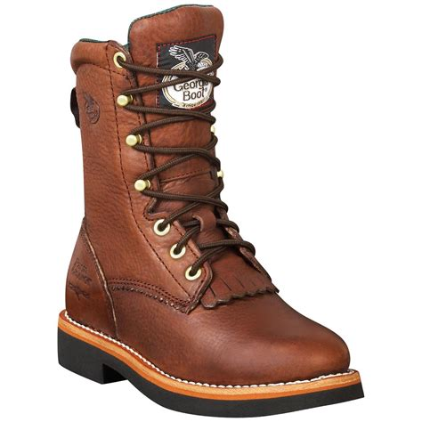womens boots for work 39 s lacer walnut work boots 430939 work boots