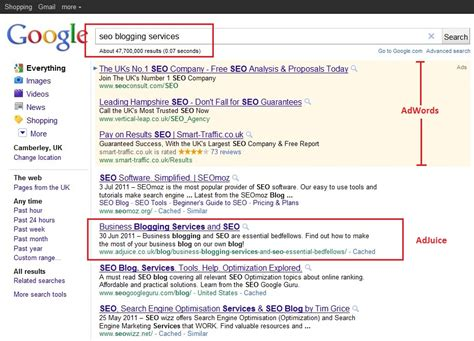 Seo Search Results by Business Blogging For Seo Search Results