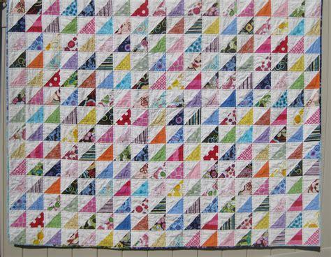 Patchwork  und Quiltforum     Stoffverbrauch für Quilt aus schnellen Dreiecken