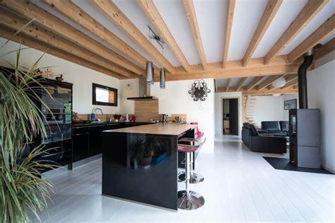 construction d une maison en ossature bois 224 ver sur mer calvados maisons d int 233 rieur 224 caen