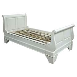 Storage Bench White