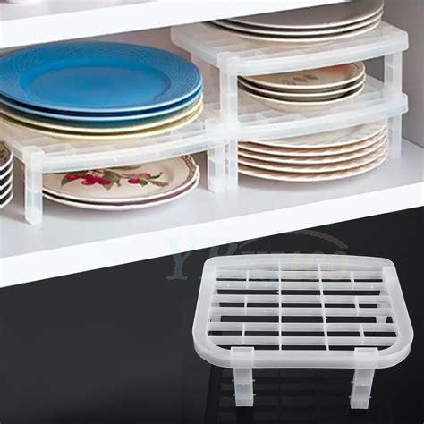 kitchen dishes organizer foldable plastic dish rack organizer holder shelf storage 1555