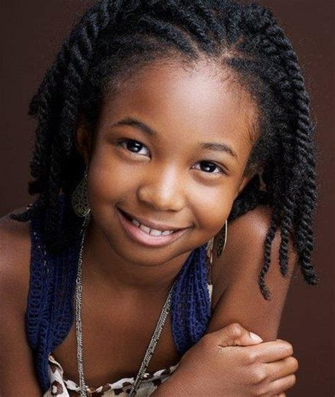 Cute As A Button Child Hairstyle ⋆ African American