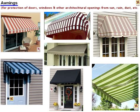 architecture awnings   awnings   awnings canopies  doors windows