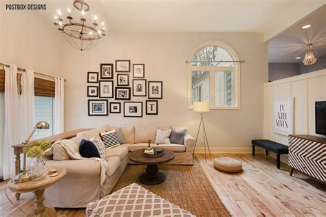 room reveal  tips  decorate  family room  high