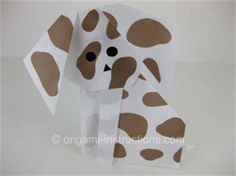 origami dog folding instructions     origami dog