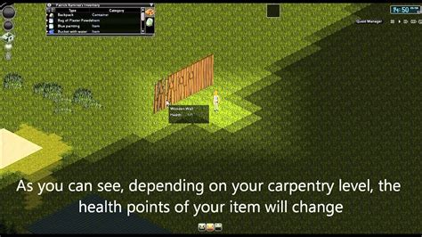 project zomboid revised carpentry system youtube