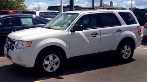 ford escape xlt  suv  sale marshall ford