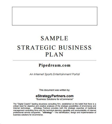 strategic business plan template strategic business plan template 9 free word documents free premium templates
