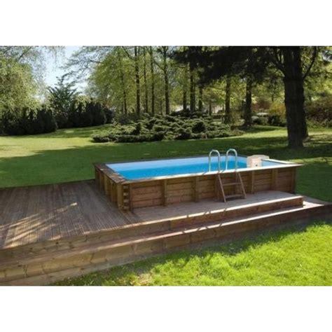 la piscine en kit semi enterr 233 e une approche 233 conomique de la piscine semi enterr 233 e