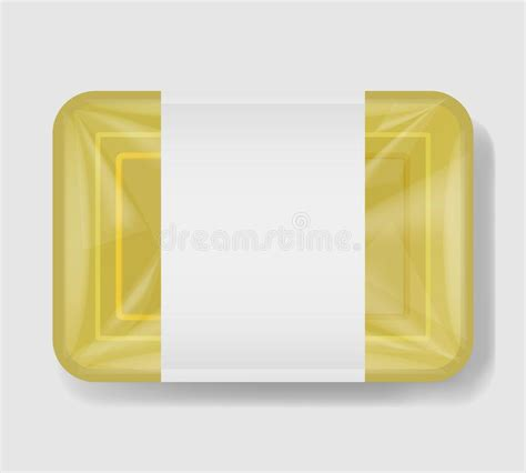 Contains special layers and smart object for your creative works. Plastic Tray Container With Cellophane Cover. Mockup ...