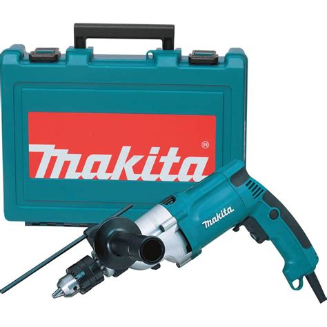 makita 6 6 3 4 in corded hammer drill with torque limiter side handle depth key