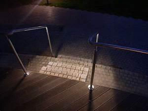 Led Gartenlampen Außenbereich : gel nder mit led beleuchtung im aussenbereich der thega ~ Frokenaadalensverden.com Haus und Dekorationen