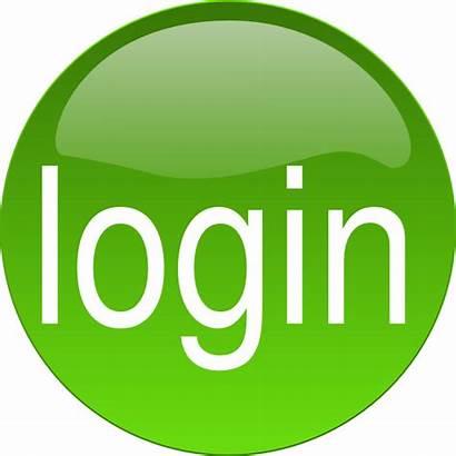 Login Clipart Button Cliparts Clip Quaver Logon