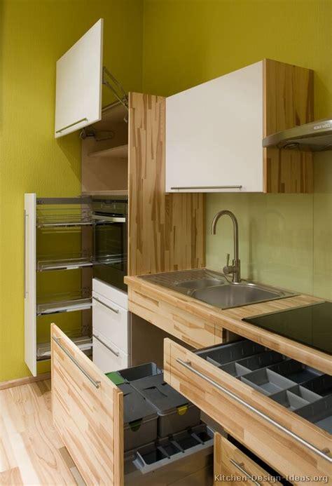 pictures  kitchens modern light wood kitchen