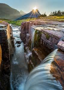 Triple Falls Glacier National Park Montana