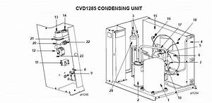 Manitowoc Cvd1285 Remote Condenser Parts Diagram