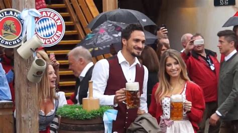 The oktoberfest's power consumption totals approximately 2.7 million kilowatt hours, not including assembly and dismantling of the attractions. FC Bayern Oktoberfest Käfer Wiesnschänke 2016 - YouTube