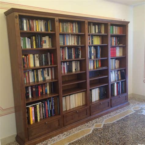 Librerie In Legno Su Misura by Librerie In Legno Su Misura Fadini Mobili Cerea Verona
