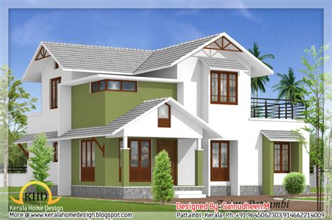 Beautiful House Elevation Designs Kerala Home Design Floor