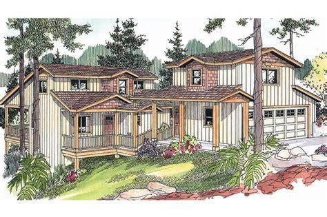 house plans  detached garage  breezeway