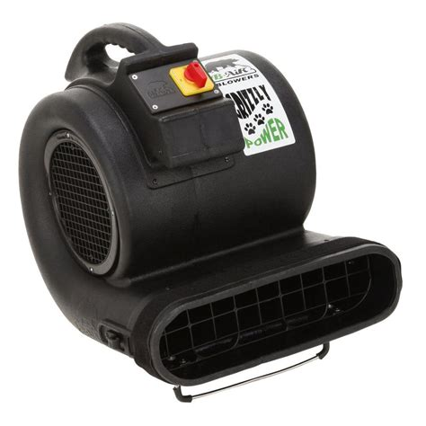 b air high velocity 3 speed 3550 cfm air mover carpet