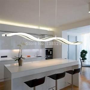 aliexpresscom buy modern led pendant light hanging With modern dining room pendant lighting