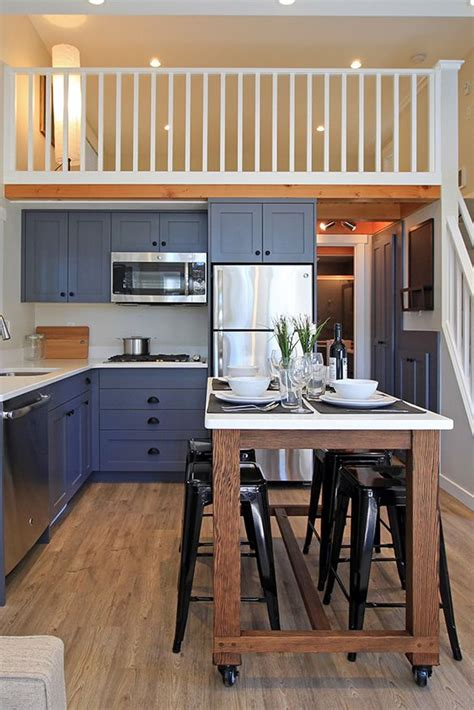 salish  west coast homes small kitchen layouts