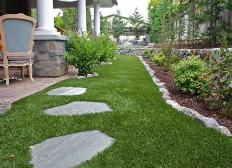 landscaping with artificial grass artificial grass low maintenance landscaping 12 great ideas bob vila