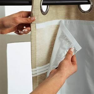 Tissus Pour Double Rideaux : comment coudre rideaux avec doublure ~ Melissatoandfro.com Idées de Décoration