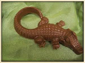 Chocolate Alligator Candy Mold