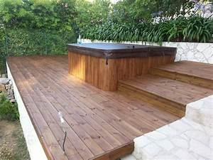 terrasses piscines linea design decolinea design deco With photo terrasse en bois