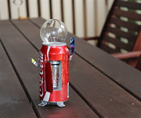 how to make a how to make a coca cola robot from recyclables 5 steps