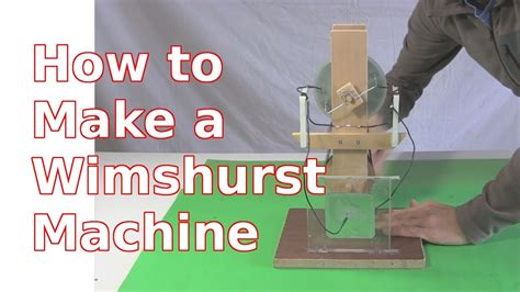 Wimshurst Machine  How To Make Using Cds  Youtube