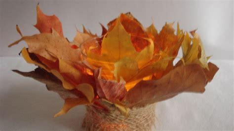 Herbstliche Tischdeko Selbermachen by Bastelideen Im Herbst Tischdeko Selber Machen Teelicht Im